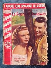 Grandi cineromanzi illustrati 1939 n.375 La Regina di Broadway (G.Rogers) 07/16