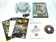 Metroid Prime (Nintendo GameCube K-Mart Exclusive Complete + Wavebird & Receiver