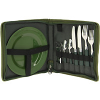 Carp Fishing Cutlery Set for Bivvy ,Chair or Bedchair etc