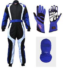 LRP Adult Kart Racing Suit- Freedom Suit Package Deal 1 Black/White/Blue