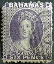 Bahamas 1863 6d SG 31 Used Cat £60