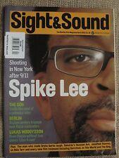 Film Magazine SIGHT & SOUND - April 2003 - SPIKE LEE