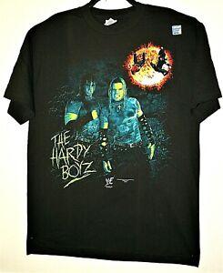 Vintage WWF Hardy Boys Wrestling T-Shirt W/ Hologram New SZ LG NOS Original 2000