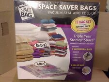 Original Space Bag 11 Bag Set includes 1 Jumbo Size. New . Free Shipping