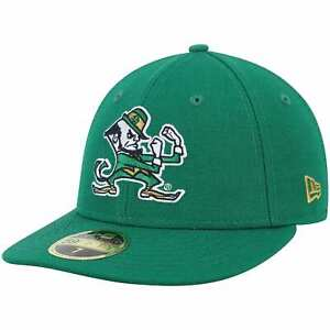 Notre Dame Fighting Irish New Era Basic Low Profile 59FIFTY Fitted Hat - Kelly