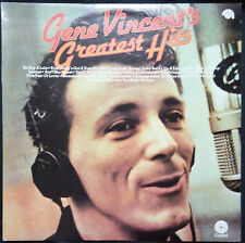 GENE VINCENT'S GREATEST HITS - VINYL LP AUSTRALIA (WITH SLIGHT WARP)