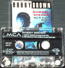 Bobby Brown ‎Humpin' Around (The K Klass Mixes) CASSETTE SINGLE Electronic House