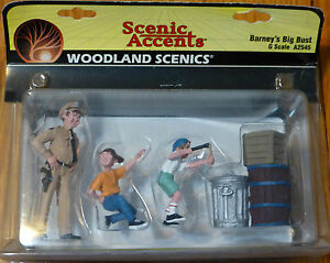 Woodland Scenics G Scale #2545  -  Barney's Big Bust (1:24th Scale)