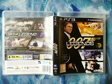 PS3 GAME 007 Legends FOR Sony PlayStation 3,VERY GOOD CONDITION WITH MANUAL