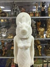 Egyptian Goddess Sekhmet Hand Carved  Marmar Stone Made in Egypt