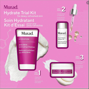 Murad Hydrate Trial Kit - Cleanser, Vitamin Infusion Oil & Moisturizer