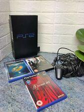 Sony PlayStation 2 Black Console (SCPH-39003) Bundle
