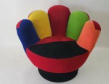 """Velvet Hand Glove Finger Swivel Chair for Kids 24""""x 21""""x 27"""" tall"""