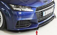 Rieger Frontspoilerschwert schwarz glänzend für Audi TT / TTS (8J-FV/8S)