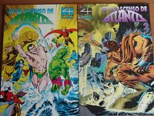 Los 4 Fantasticos El ascenso de Atlantis Nº1y2 COMPLETA vol1 de Forum Impecables