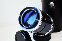 RARE ZEBRA CARL ZEISS JENA SONNAR DDR Germany 135mm f/3.5 SLR lens M42 SUPER