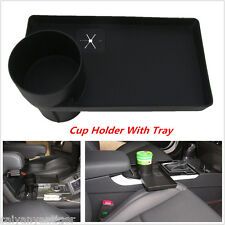 Universal Car Food/Phone Tray Bottle Rack Travel Cup Holder Storage Organizer