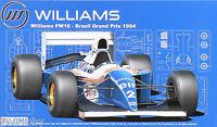 Fujimi GP18 1/20 Model Formula One Kit Williams FW16 Brazil F1'94 D.Hill/A.Senna