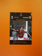 UEFA Champions League Semi-Final 1st Leg - AC Milan v Barcelona - 18/4/2006