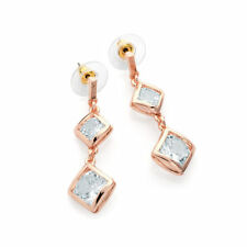 Alloy Cubic Zirconia Drop/Dangle Costume Earrings