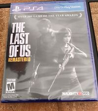 The Last of Us Remastered (Sony PlayStation 4, 2014) *BRAND NEW* FREE SHIPPING