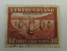 c1935 Newfoundland  SC #199 LEAVING FOR THE BANKS used stamp