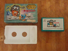 **SQUISH** NINTENDO GAME AND WATCH 1986  boxed!!
