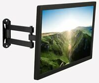 "Lockable Rv Tv Wall Mount 19""-40"" Inch Led/Lcd/Oled/Flat Screen Tvs Tilt Arm-NEW"