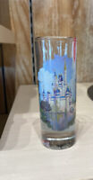 Walt Disney World Cinderella Castle Tall Shot Glass ToothPick Holder Parks