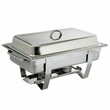 More details for olympia chafing dish made of 1/1 gn stainless steel with two fuel holders