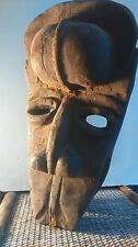 old African mask. ancien Masque africain COTE D'IVOIRE 2