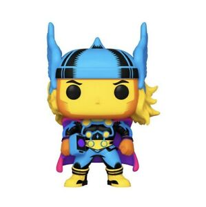 Funko Pop! Marvel: Thor #650 Black Light Target Exclusive In Hand