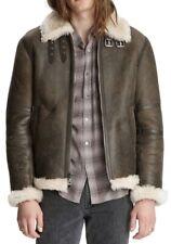 John Varvatos Men's Shearling Lamb Leather Jacket Size 52 NWT $3298