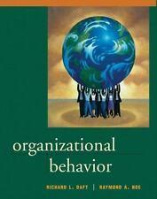 Organizational Behavior by Richard L. Daft and Raymond A. Noe (2000, Hardcover)