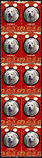 Kuvasz Year Of The Dog 2018 Strip Of 10 Mint Stamps