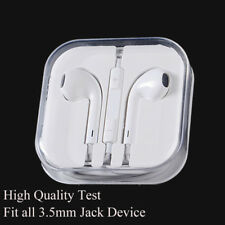 Universal 3.5mm Earphone Earbuds Headphone Remote Mic Headset fit  smart phones
