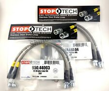 STOPTECH STAINLESS STEEL FRONT BRAKE LINES FOR 98-05 LEXUS GS300 GS430 GS400