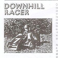 Downhill Racer Popular Mechanics Vintage Car Driver Sam Posey Parts Plans wheels