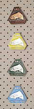 FISHING - CROATIA  Fishing Club JASTREBARSKO - Set of 4 different pin badges