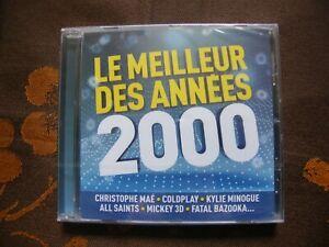 CD VARIOUS COMPILATION - Le Meilleur Des Années 2000 / Wagram Music (2016)  NEUF