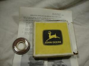 NOS John Deere AR63254 AC compressor front shield 4230 4620