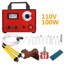 New listing 100W 110V Gourd Wood Multifunction Pyrography Tools Machine Heating Wire Pen