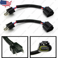 2x H4 9003 To H13 9008 Headlight Conversion Cable Wiring Harness Socket Adapter Fits 1997 Toyota Corolla