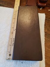 leather? cigar travel case box NEW brown 9 inches
