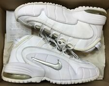 2001 Nike Air Max Penny 1 One White Metallic Silver OG Royal 630200-102 Sz 8.5