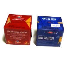 Gudbrandsdalen und Ekte Geitost 2x250g Brunost Norwegen Duo