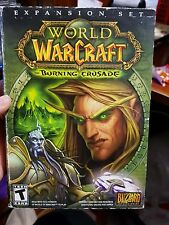 The World of Warcraft - Burning Crusade Expansion  - PC GAME - FAST POST *