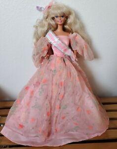 Barbie Mattel Vintage 1990s Happy Birthday Doll Dressed Preowned