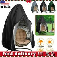 Hanging Hammock Swing Chair Egg Wicker Stand Seat Cover Patio Garden Outdoor