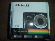 Polaroid IS426 16MP 4X Zoom Compact Digital Camera -Red